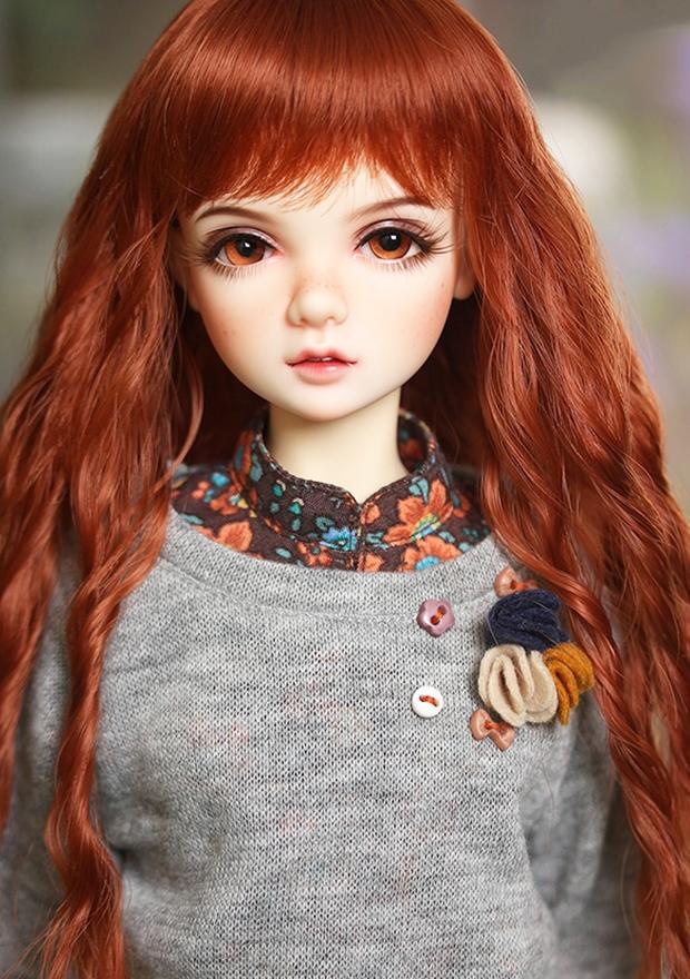 ドール本体 IP AMY 女の子 BJD人形 SD人形 1/4サイズ 人形ボディ製品図4