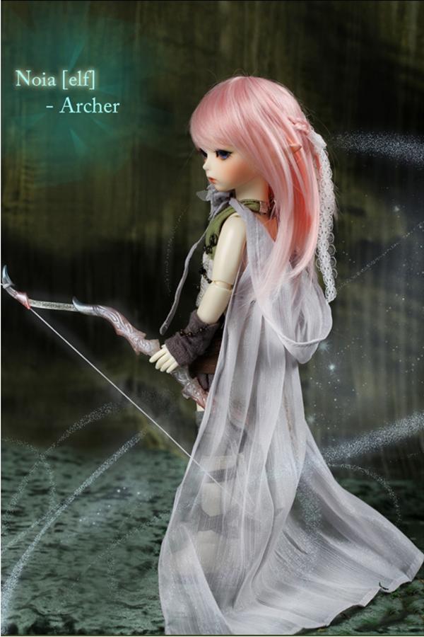 ドール本体 latidoll Black Forest-Noia 女の子 BJD人形 SD人形 1/6サイズ 人形ボディ製品図5