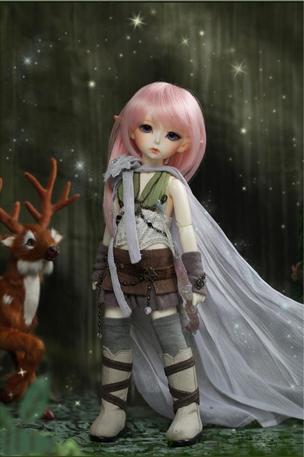 ドール本体 latidoll Black Forest-Noia 女の子 BJD人形 SD人形 1/6サイズ 人形ボディ製品図6