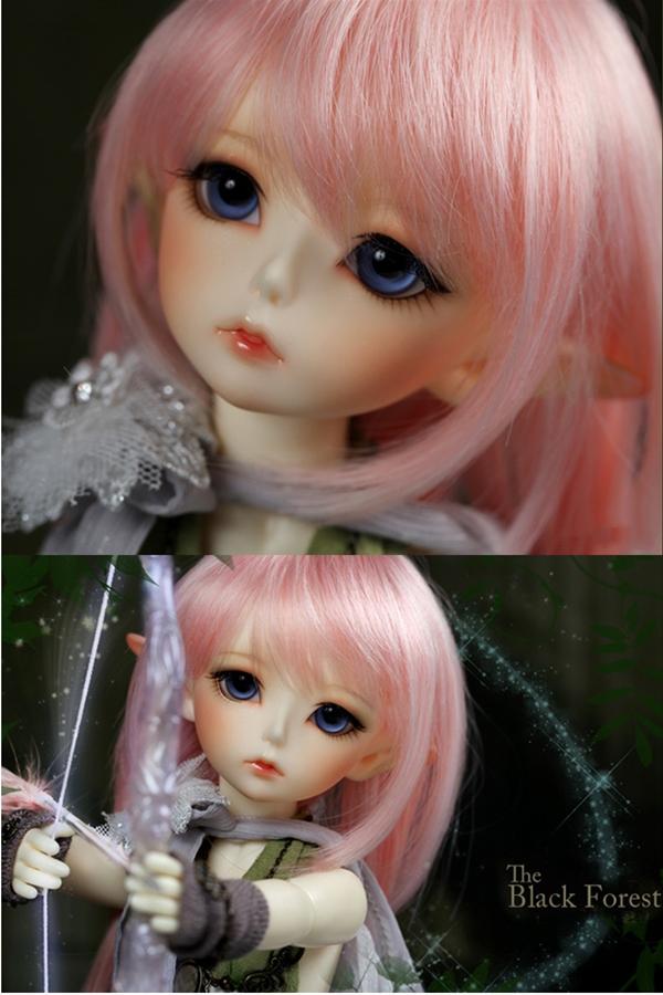 ドール本体 latidoll Black Forest-Noia 女の子 BJD人形 SD人形 1/6サイズ 人形ボディ製品図1