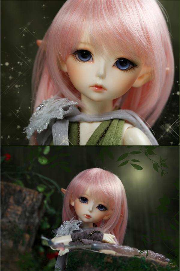 ドール本体 latidoll Black Forest-Noia 女の子 BJD人形 SD人形 1/6サイズ 人形ボディ製品図2
