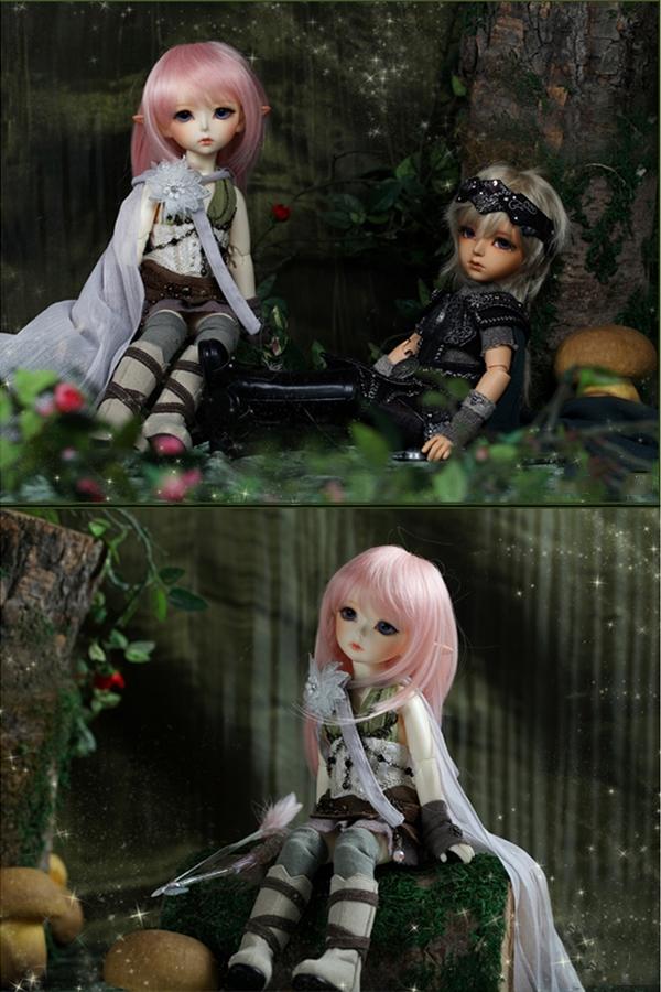 ドール本体 latidoll Black Forest-Noia 女の子 BJD人形 SD人形 1/6サイズ 人形ボディ製品図3