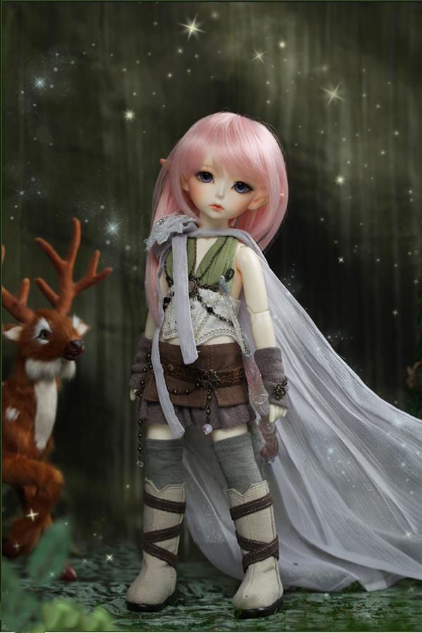 ドール本体 latidoll Black Forest-Noia 女の子 BJD人形 SD人形 1/6サイズ 人形ボディ製品図4