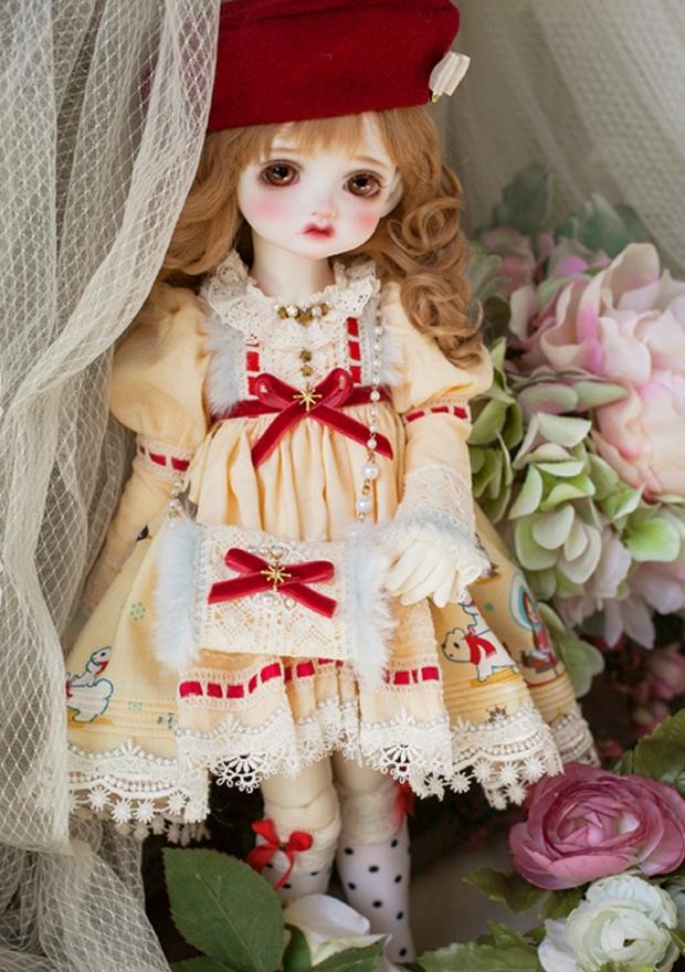 ドール本体 Melissa RL 巨児 女の子 BJD人形 SD人形 1/4サイズ 人形ボディ製品図5