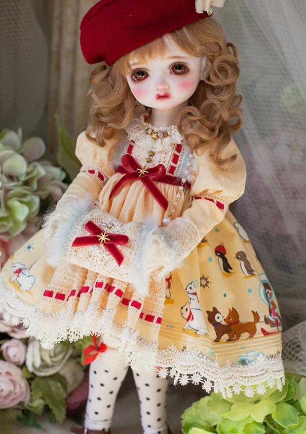 ドール本体 Melissa RL 巨児 女の子 BJD人形 SD人形 1/4サイズ 人形ボディ製品図6