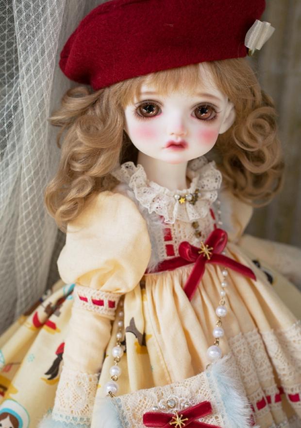 ドール本体 Melissa RL 巨児 女の子 BJD人形 SD人形 1/4サイズ 人形ボディ製品図1