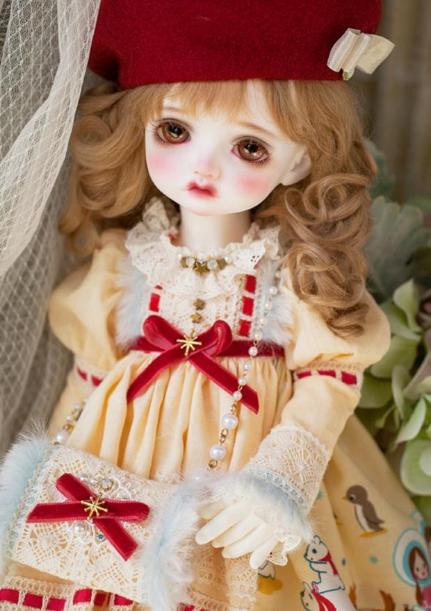 ドール本体 Melissa RL 巨児 女の子 BJD人形 SD人形 1/4サイズ 人形ボディ製品図2
