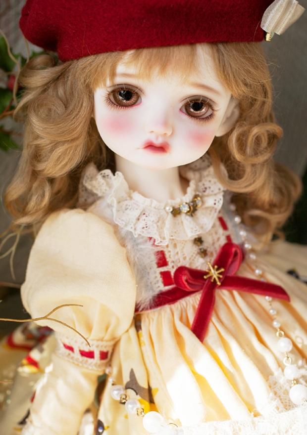 ドール本体 Melissa RL 巨児 女の子 BJD人形 SD人形 1/4サイズ 人形ボディ製品図3
