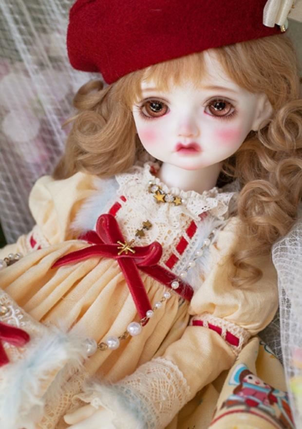 ドール本体 Melissa RL 巨児 女の子 BJD人形 SD人形 1/4サイズ 人形ボディ製品図4