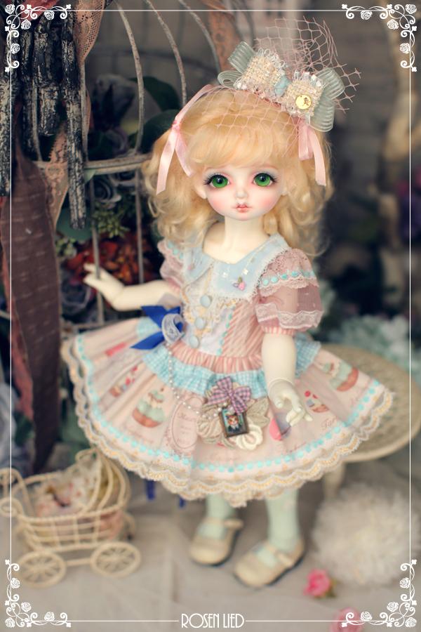 ドール本体 Roselied bambi 巨児 女の子 BJD人形 SD人形 1/4サイズ 人形ボディ製品図5