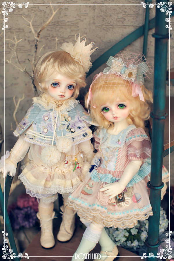 ドール本体 Roselied bambi 巨児 女の子 BJD人形 SD人形 1/4サイズ 人形ボディ製品図6