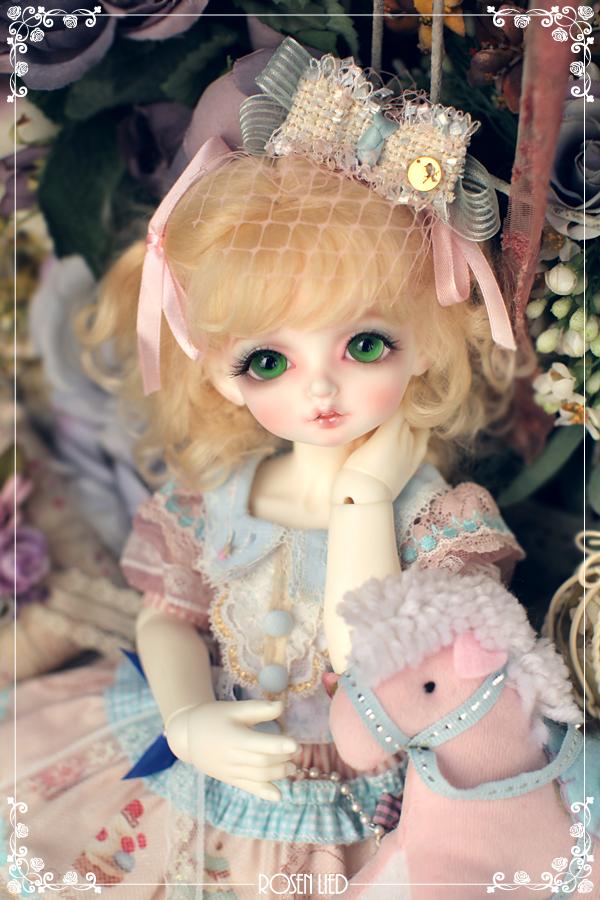 ドール本体 Roselied bambi 巨児 女の子 BJD人形 SD人形 1/4サイズ 人形ボディ製品図1