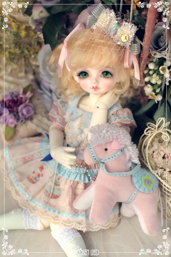 ドール本体 Roselied bambi 巨児 女の子 BJD人形 SD人形 1/4サイズ 人形ボディ製品図2