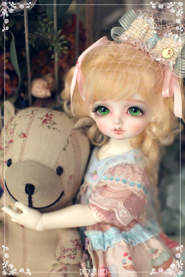 ドール本体 Roselied bambi 巨児 女の子 BJD人形 SD人形 1/4サイズ 人形ボディ製品図3