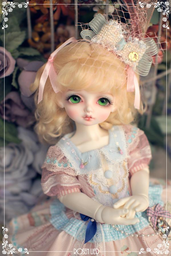 ドール本体 Roselied bambi 巨児 女の子 BJD人形 SD人形 1/4サイズ 人形ボディ製品図4