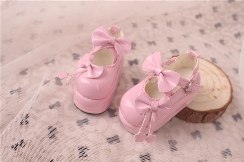 Bjd靴 ドール靴  蝶結び厚みの靴 1/4  単独で購入できない製品図5