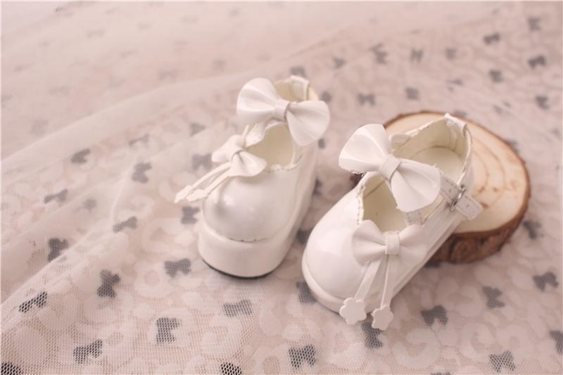 Bjd靴 ドール靴  蝶結び厚みの靴 1/4  単独で購入できない製品図6