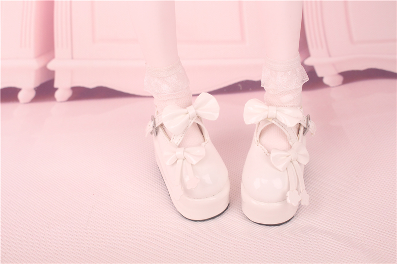 Bjd靴 ドール靴  蝶結び厚みの靴 1/4  単独で購入できない製品図3