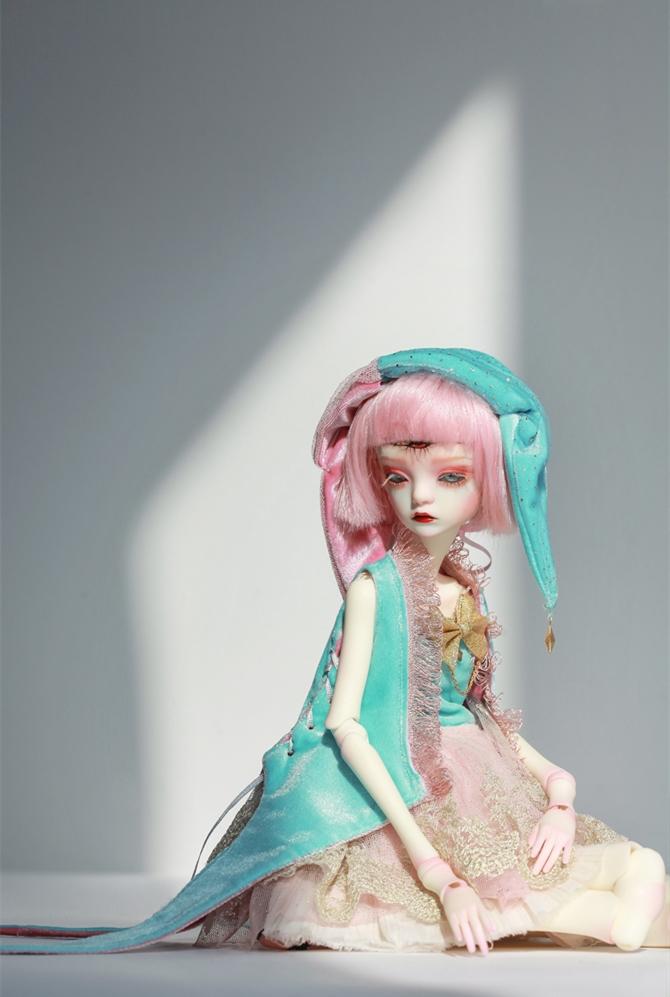 ドール本体 DC Bella BJD人形 SD人形 女性 1/4サイズ人形ボディ製品図6