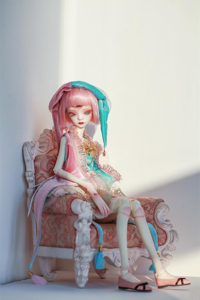 ドール本体 DC Bella BJD人形 SD人形 女性 1/4サイズ人形ボディ製品図7