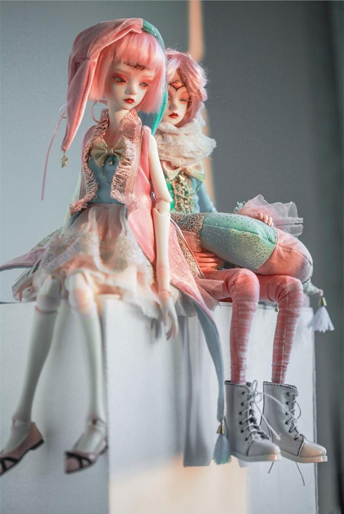 ドール本体 DC Bella BJD人形 SD人形 女性 1/4サイズ人形ボディ製品図8
