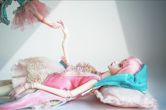 ドール本体 DC Bella BJD人形 SD人形 女性 1/4サイズ人形ボディ製品図1