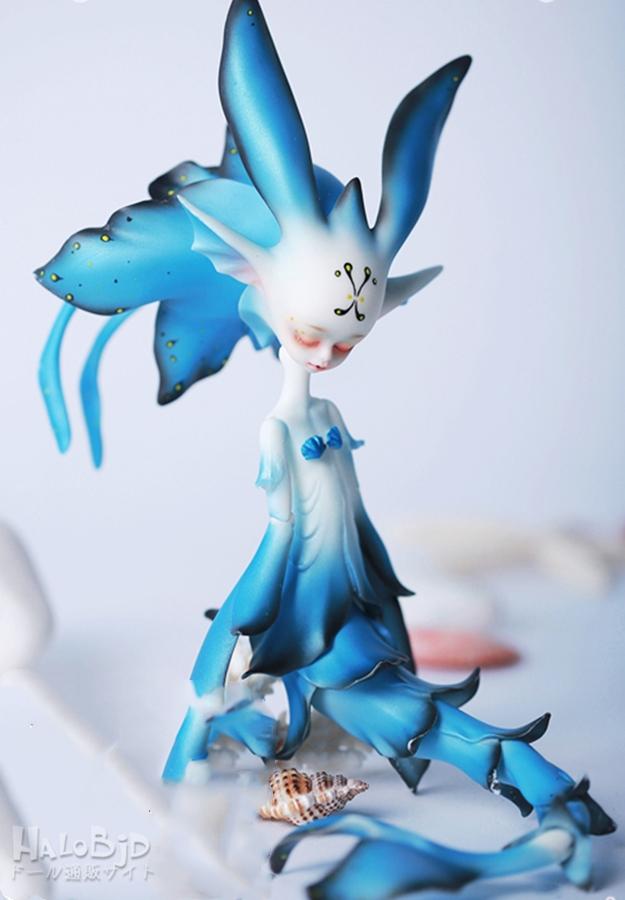 ドール本体 DZ Frieda BJD人形 SD人形 特体サイズ 35cm 人形ボディ製品図2