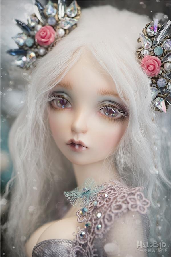ドール本体 Sia BJD人形 SD人形 1/4サイズ 女の子 人形ボディ製品図2