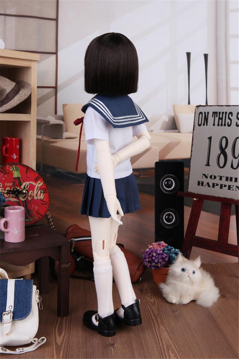 ドール衣装 学院風セット BJD衣装 サイズが注文できる製品図4