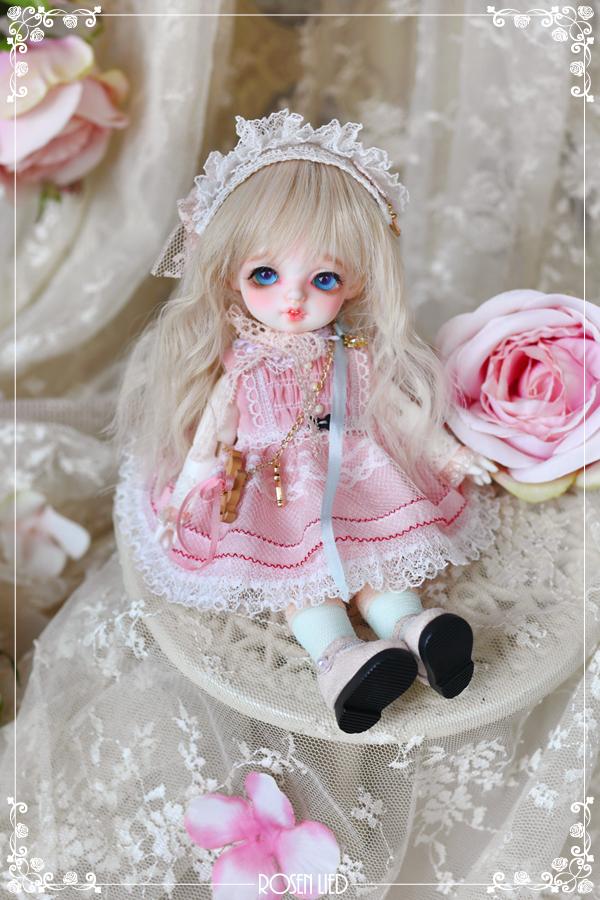ドール本体 バンビ Roselied Monday's Child Bambi BJD人形 SD人形  1/8製品図4