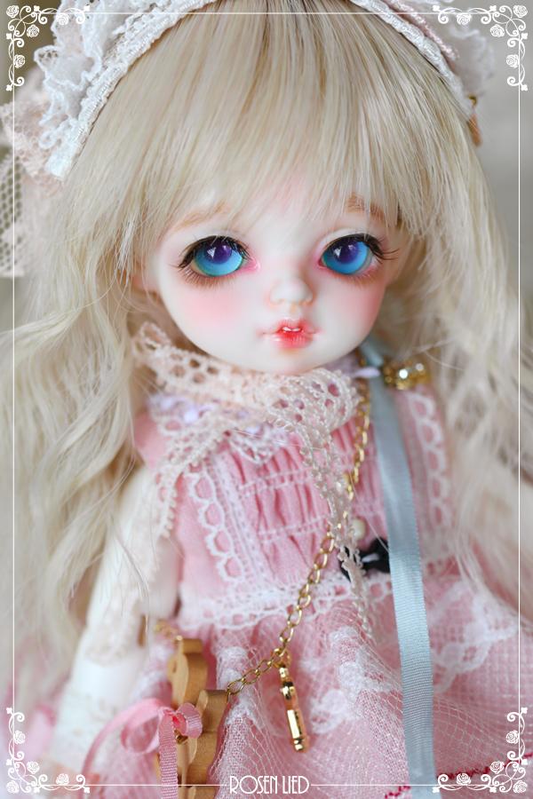 ドール本体 バンビ Roselied Monday's Child Bambi BJD人形 SD人形  1/8製品図5
