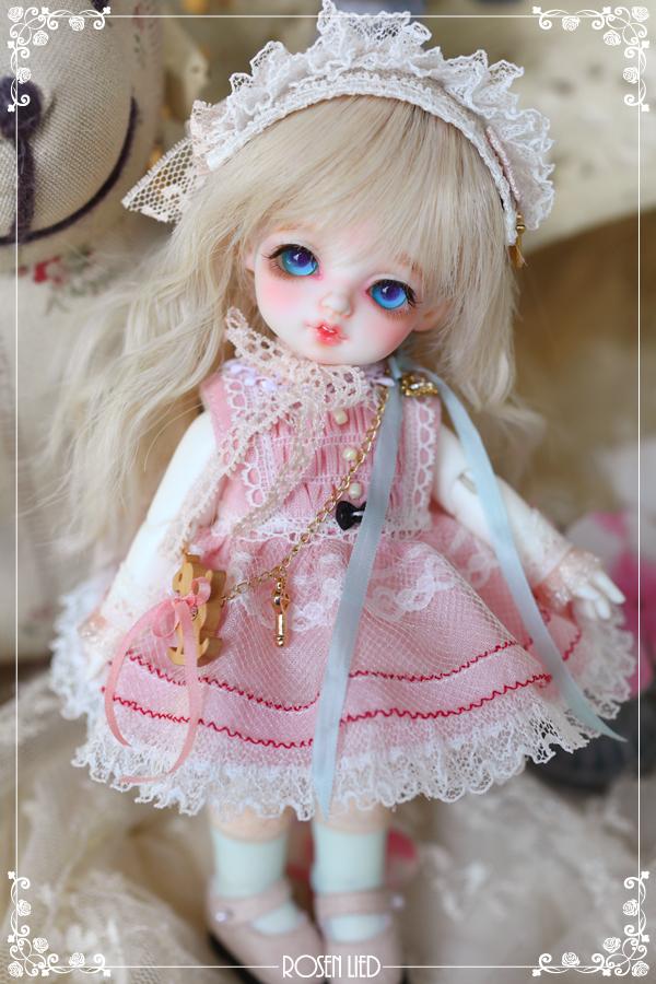 ドール本体 バンビ Roselied Monday's Child Bambi BJD人形 SD人形  1/8製品図1