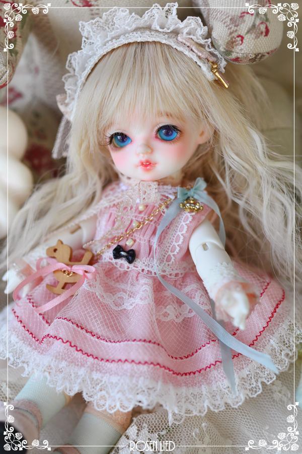 ドール本体 バンビ Roselied Monday's Child Bambi BJD人形 SD人形  1/8製品図2