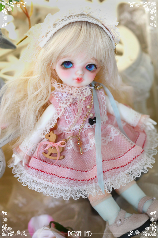 ドール本体 バンビ Roselied Monday's Child Bambi BJD人形 SD人形  1/8製品図3