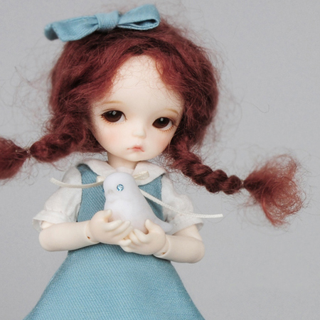 ドール本体 LUTS Kid Delf Headドールボディー BJD人形 SD人形 1/4製品図1