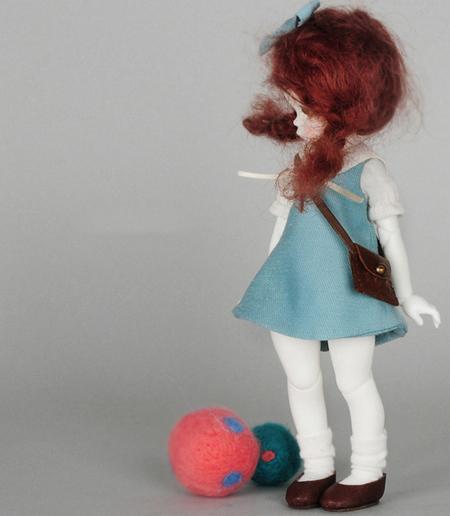 ドール本体 LUTS Kid Delf Headドールボディー BJD人形 SD人形 1/4製品図3