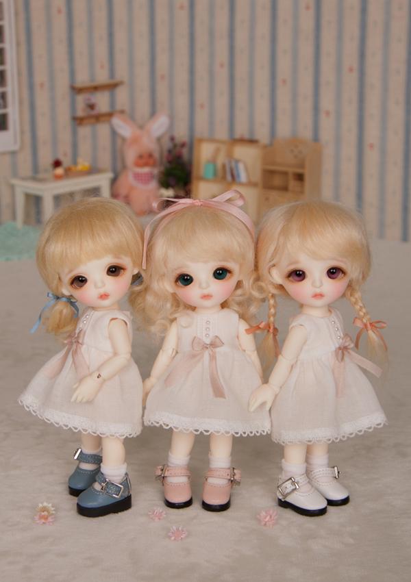 ドール本体 Lina Baby Miu ドールボディー BJD人形 SD人形 1/8製品図3