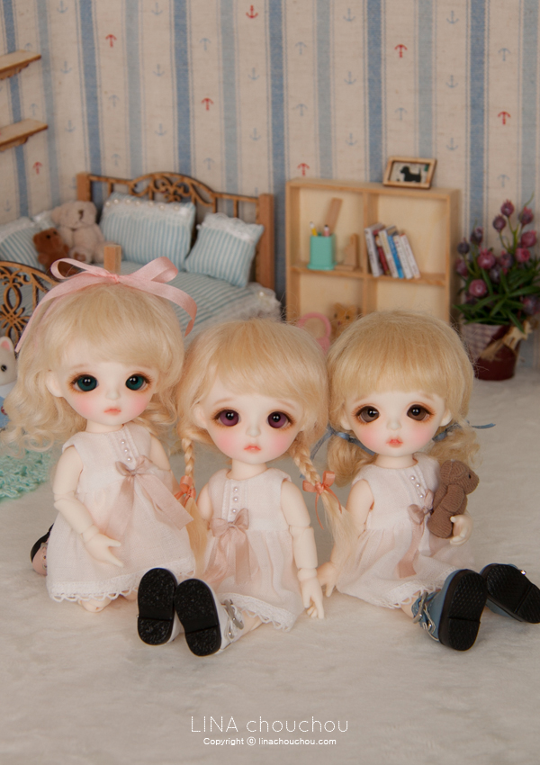 ドール本体 Lina Baby Miu ドールボディー BJD人形 SD人形 1/8製品図5