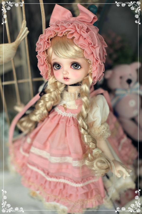 ドール本体 RL bambi バンビドールボディー 巨児 BJD人形 SD人形 1/4 製品図1