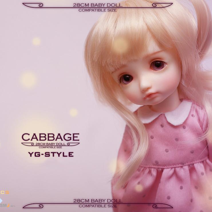 ドール本体 Luts boryドールボディー BJD人形 SD人形 1/6 製品図2