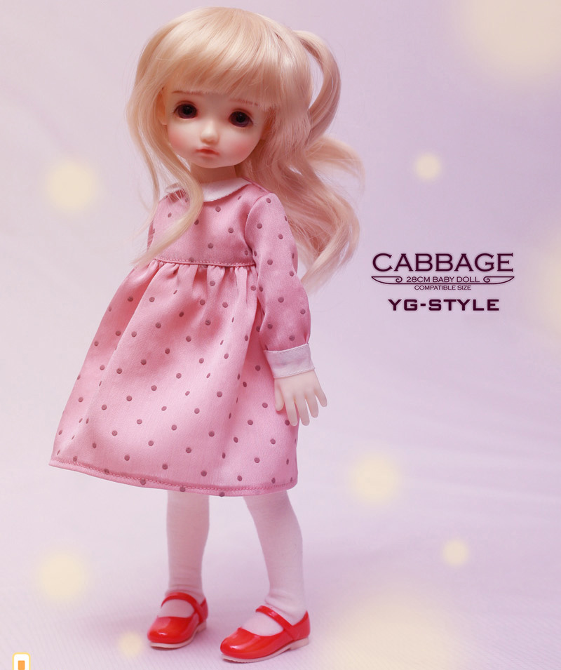 ドール本体 Luts boryドールボディー BJD人形 SD人形 1/6 製品図6