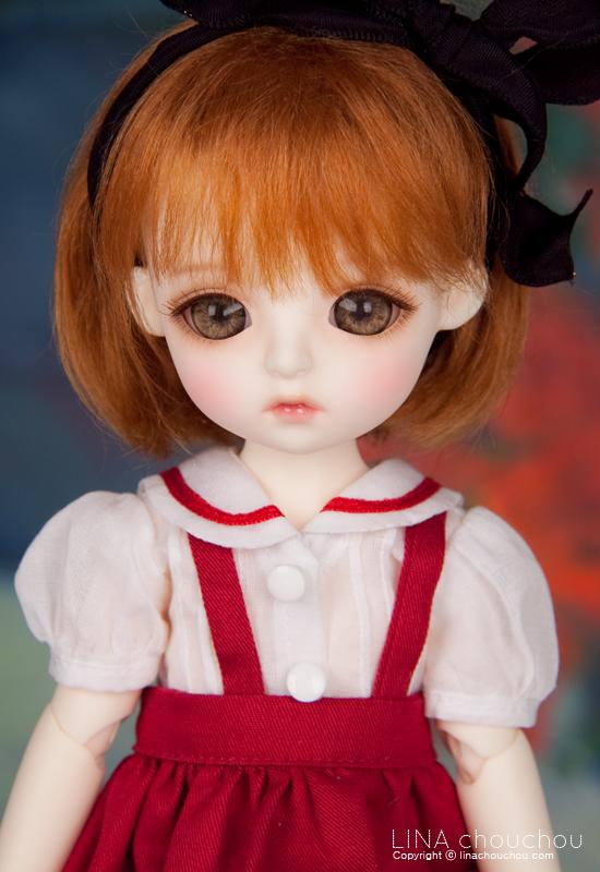 ドール本体 lina daisyドールボディー BJD人形 SD人形 1/6製品図1