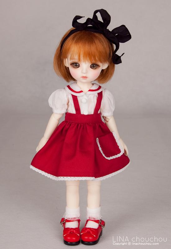 ドール本体 lina daisyドールボディー BJD人形 SD人形 1/6製品図4