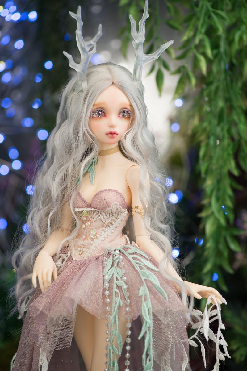 ドール本体 Minifee Evaドールボディー BJD人形 SD人形 1/4製品図5