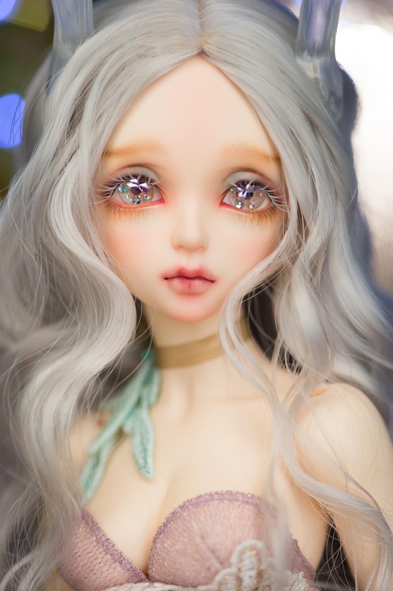 ドール本体 Minifee Evaドールボディー BJD人形 SD人形 1/4製品図1