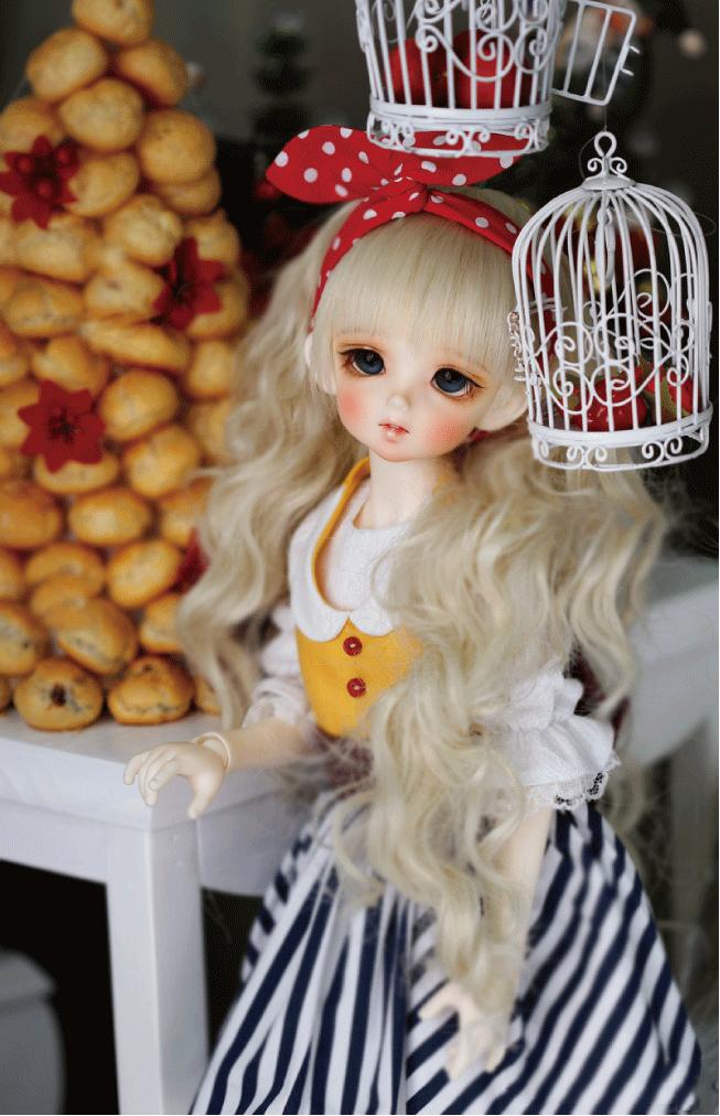 ドール本体 CRBOI Heidi 疑問符 ドールボディー  BJD人形 SD人形 1/4製品図5