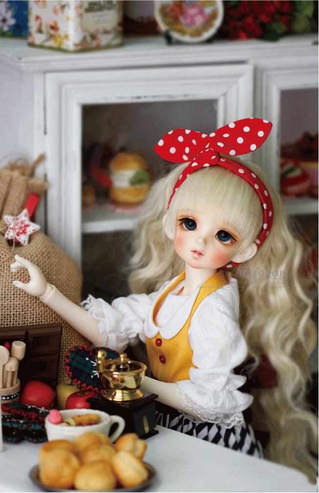 ドール本体 CRBOI Heidi 疑問符 ドールボディー  BJD人形 SD人形 1/4製品図6