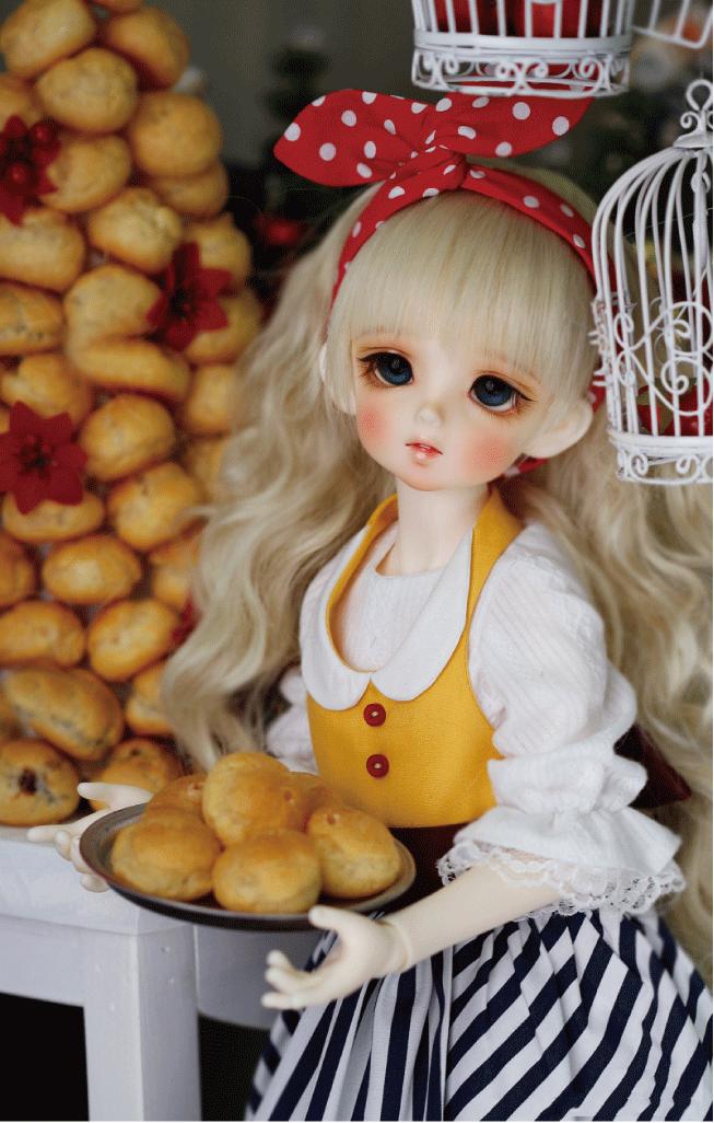 ドール本体 CRBOI Heidi 疑問符 ドールボディー  BJD人形 SD人形 1/4製品図7