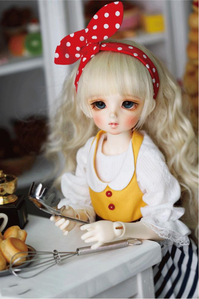 ドール本体 CRBOI Heidi 疑問符 ドールボディー  BJD人形 SD人形 1/4製品図2