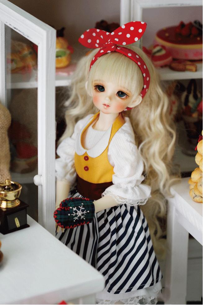 ドール本体 CRBOI Heidi 疑問符 ドールボディー  BJD人形 SD人形 1/4製品図3